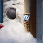 Water damage from overflowing washing machine needs water damage restoration services from Roth Companies and Roth Construction Company services water, fire, smoke damage restoration and remediation for Cleveland and Elyria, Ohio areas