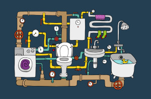 Understanding your home's plumbing system may help reduce sewage damages and the need for sewage cleanup | Sewage damage cleanup services by Roth Companies and Roth Construction Company services water, fire, smoke damage restoration and remediation for Cleveland and Elyria, Ohio areas