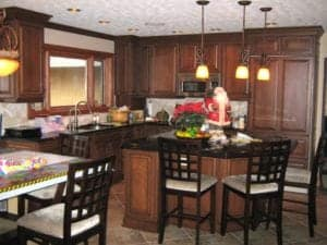 Fire damaged kitchen | Fire damage restoration services by Roth Companies and Roth Construction Company services water, fire, smoke damage restoration and remediation for Cleveland, Elyria, Akron, Canton, Sandusky, Youngstown, OH, Ohio areas