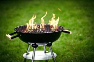 Grilling to close to your home or garage could cause the structure to catch fire | Fire damage restoration services by Roth Companies and Roth Construction Company services water, fire, smoke damage restoration and remediation for Cleveland and Elyria, Ohio areas