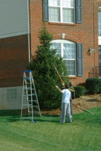 Holiday Home Safety Checklist Ladder Tip Roth Companies and Roth Construction Company services water, fire, smoke damage restoration and remediation for Cleveland, Elyria, Akron, Canton, Sandusky, Youngstown, OH, Ohio areas